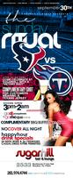Sunday at Sugarhill 2533 SOUTHMORE Texans postgame...