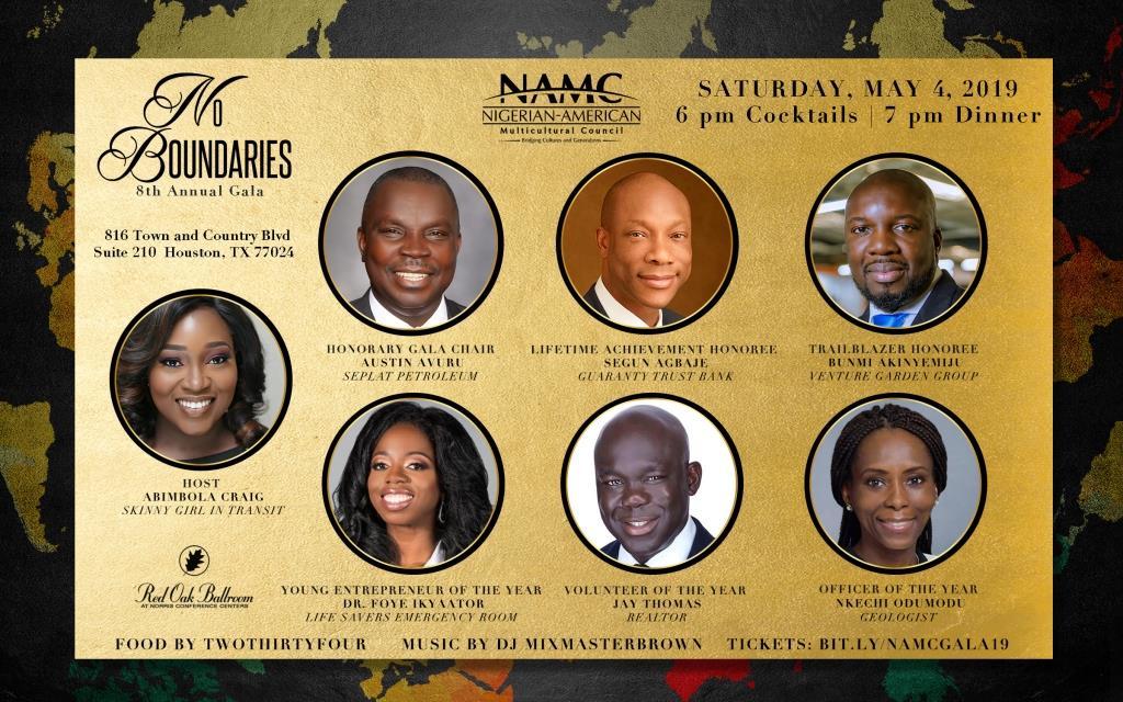 2019 NAMC Gala Invitation