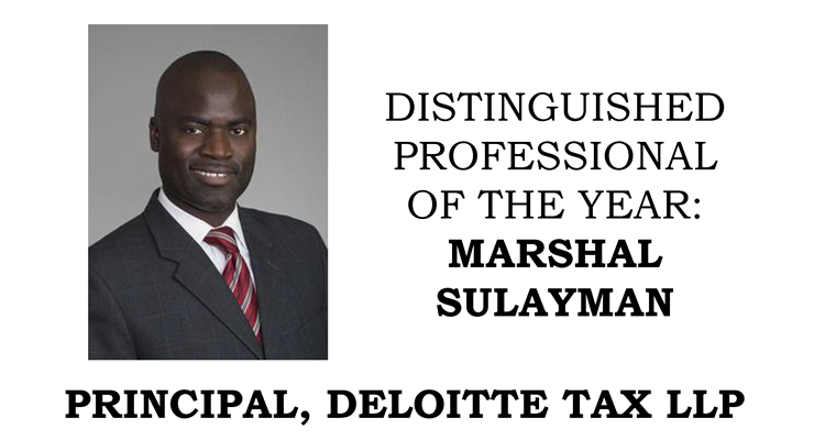 Marshal Sulayman - Distinguished Professional