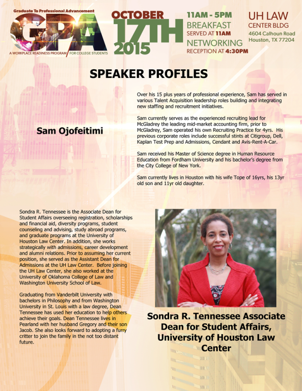 Speaker Profile