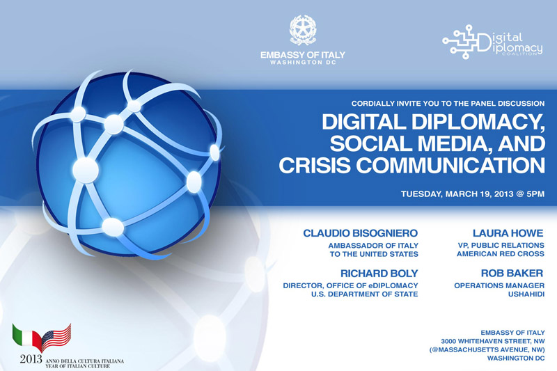 Digital Diplomacy: Crisis Communications Event