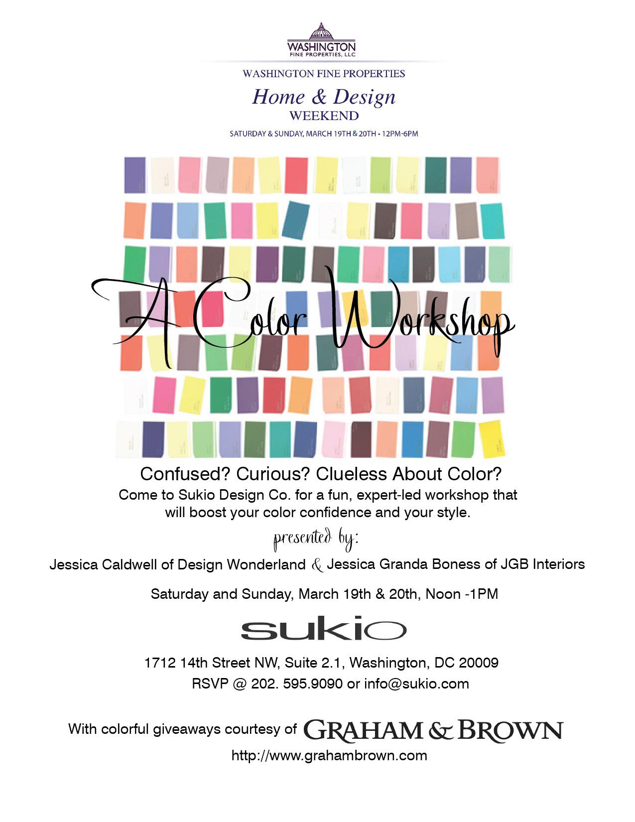 Sukio Color Workshop