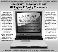 Journalism Innovations III: WALK-UP REGISTRATIONS WELCOME!