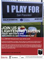 I PLAY FOR SF: Lightening Tavern Social Event