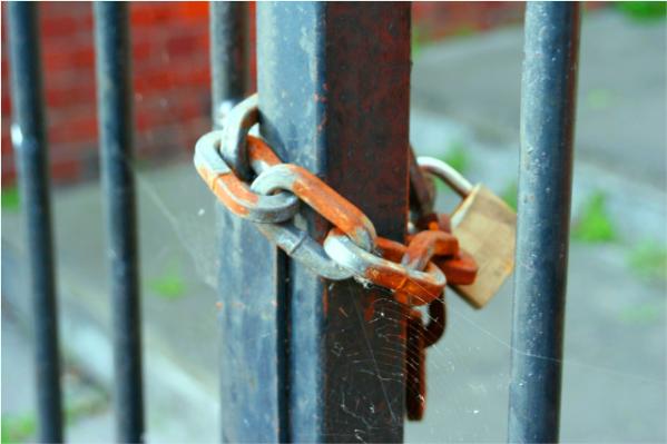 Image of Locked Gates