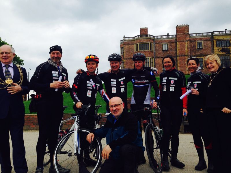 The Lord Mayor's Cycle Ride team