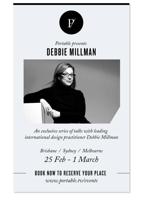 DEBBIE MILLMAN FLYER