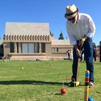 Champagne and Croquet
