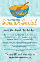 Start From Scratch Summer Social