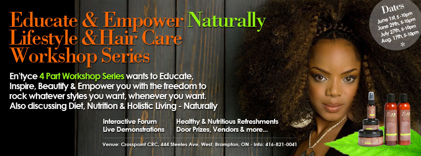 En'tyce Your Beauty - Naturally Workshop Series