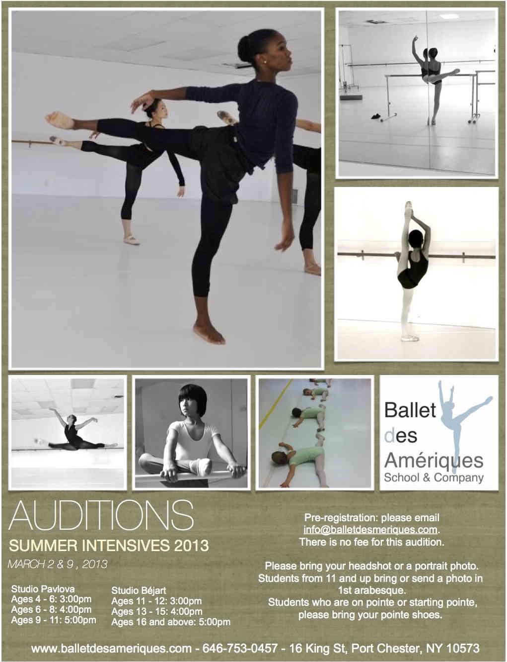 Summer Intensive 1 Ballet des Amériques