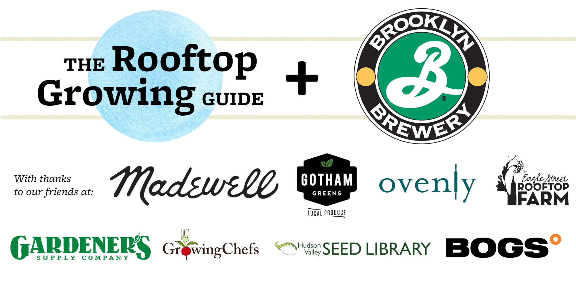 Rooftop Growing Guide Launch Party for Urban Farmers at Brooklyn Brewery New York City