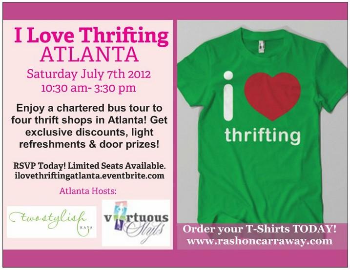 i love thrifting