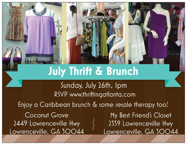 July Thrift and Brunch