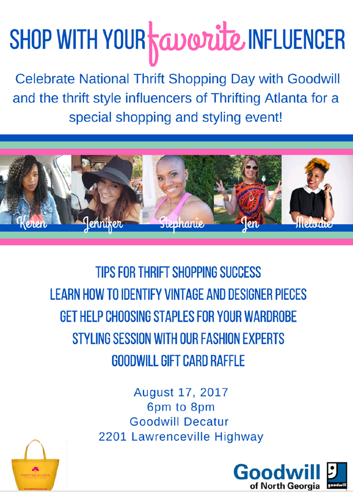 National Thrift Shop Day Atlanta