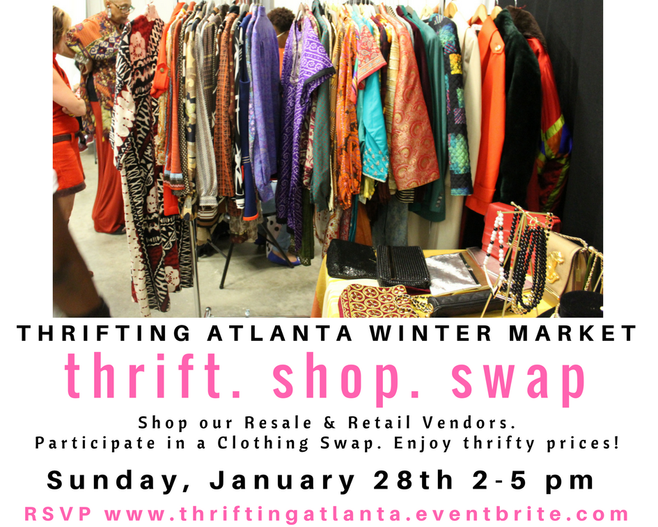 Thrifting Atlanta Winter Market Tickets Sun Jan At - What information is required on an invoice online thrift store clothes