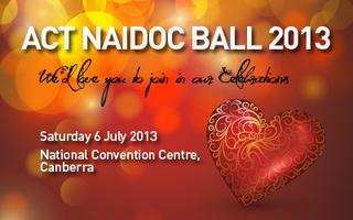 Canberra and District NAIDOC Ball 2013