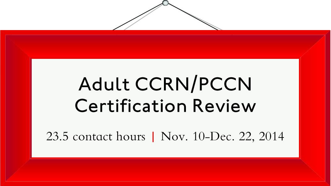 CCRN Nov. Frame