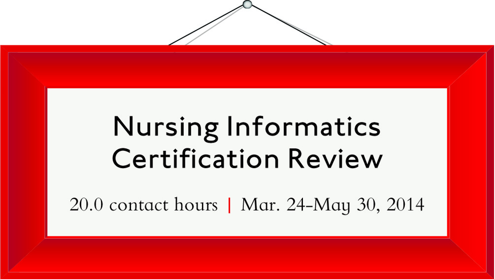 nursing informatics certification intensive ce march series eventbrite specialty stronger grasp ni ready would