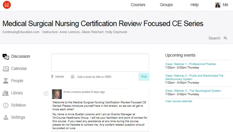 certification nursing surgical medical focused ce february series surg med