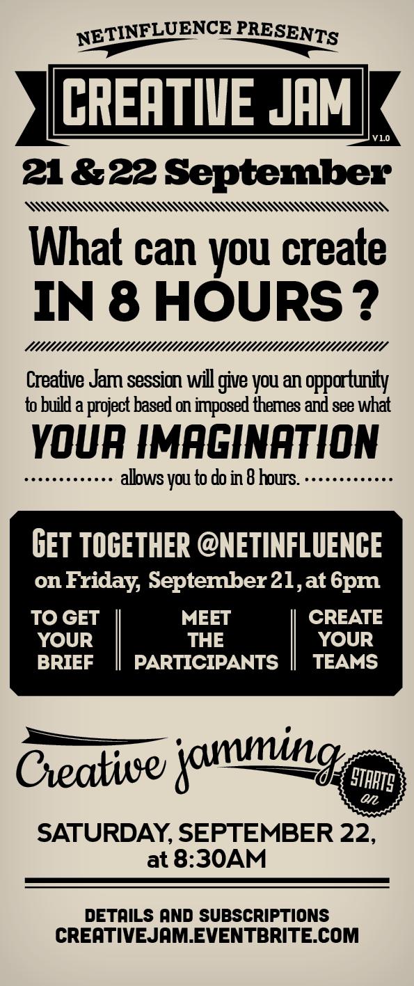 Creative Jam, by netinfluence