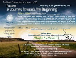 A Journey Towards the Beginning [Lecture]   Understanding...