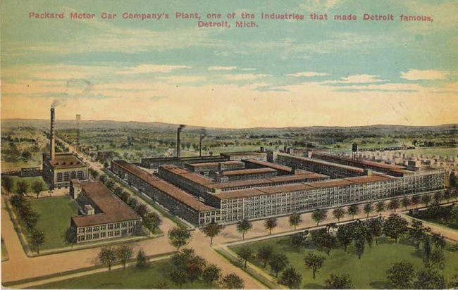 Packard Plant Postcard