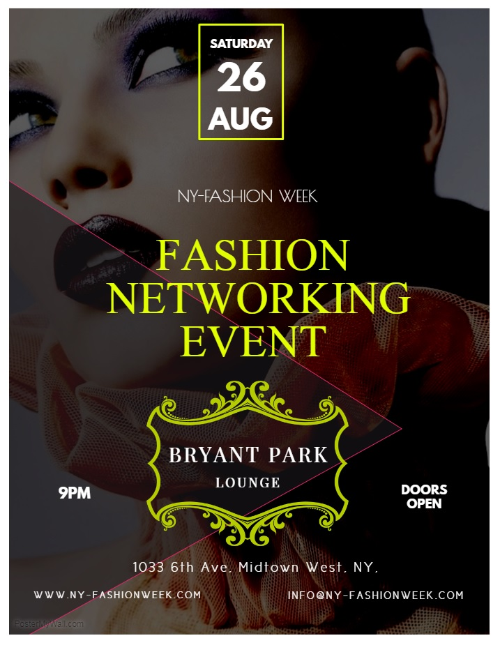 Ny Fashion Week Vip Networking Event Model Casting