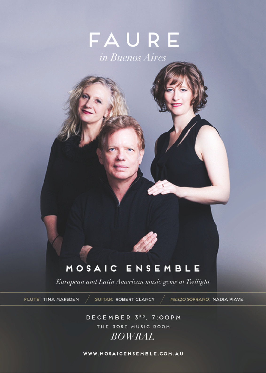 Bowral concert poster