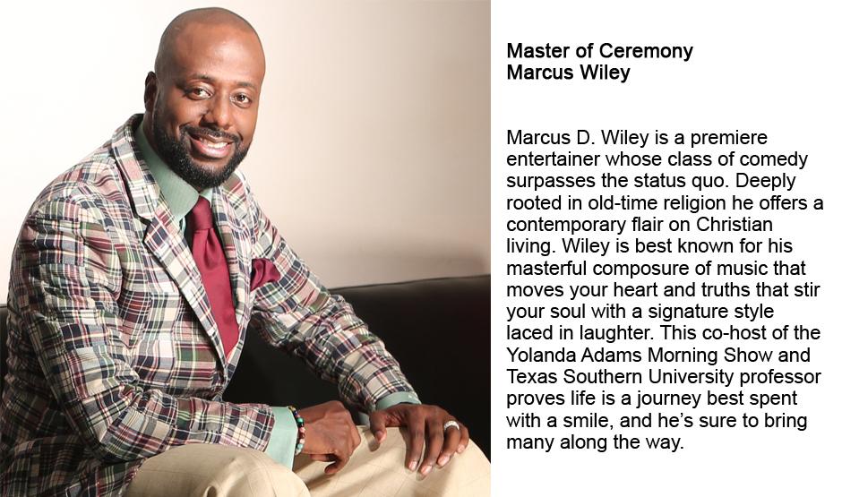 Master of Ceremony - Marcus Wiley