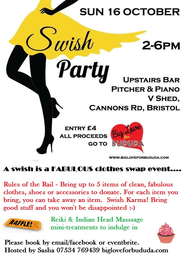Swish Party Poster