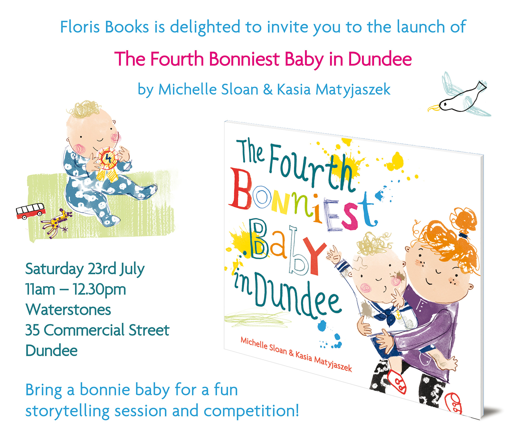 The Fourth Bonniest Baby in Dundee - Book Launch