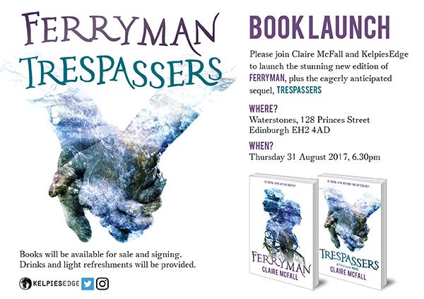Ferryman & Trespassers Book Launch Invitation