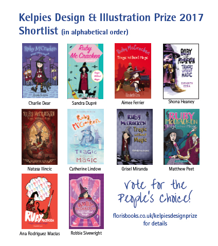 Kelpies Design & Illustration Prize 2017 Shortlist