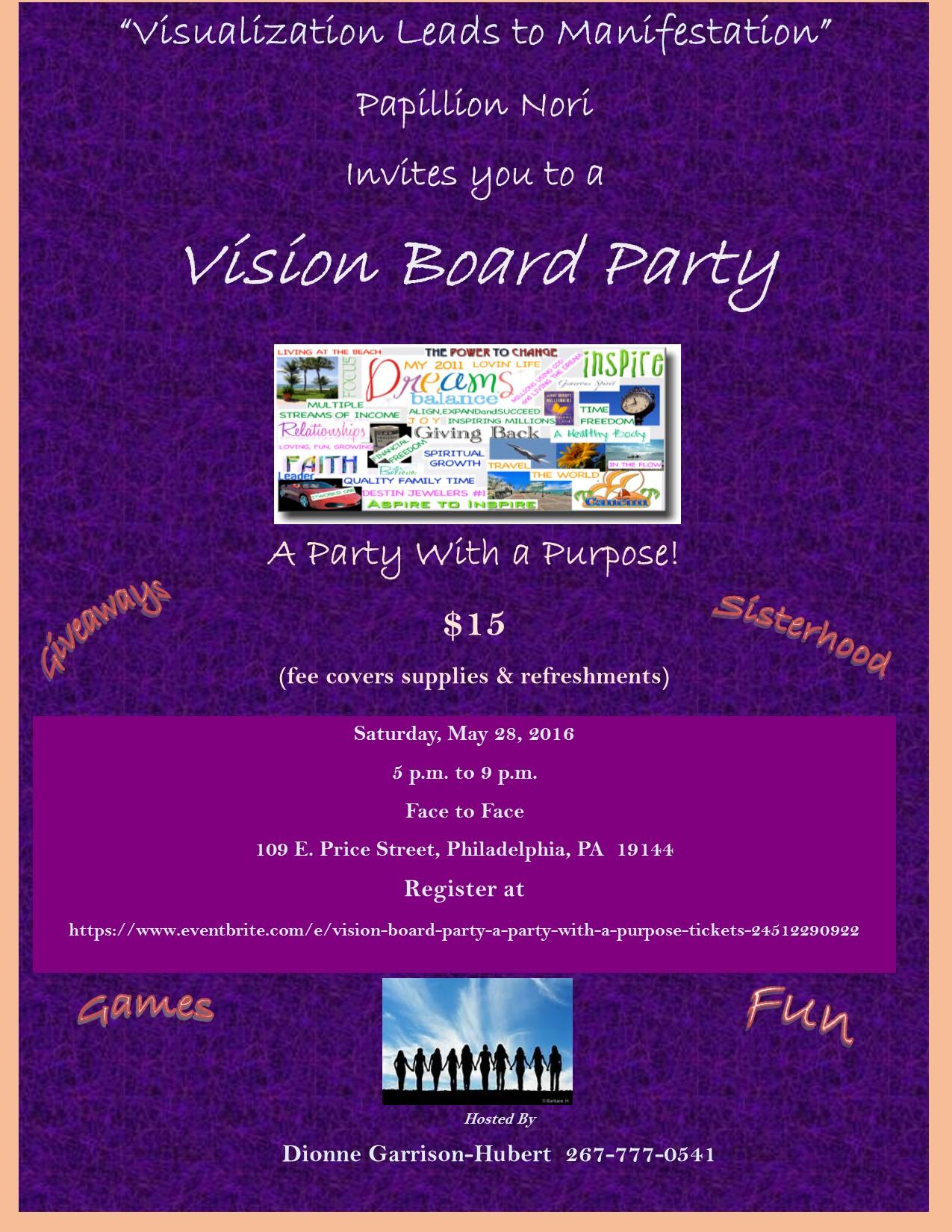 Vision Board Workshop in Gallatin, TN - Mar 25, 2017 12:00 ... |Events Vision Board