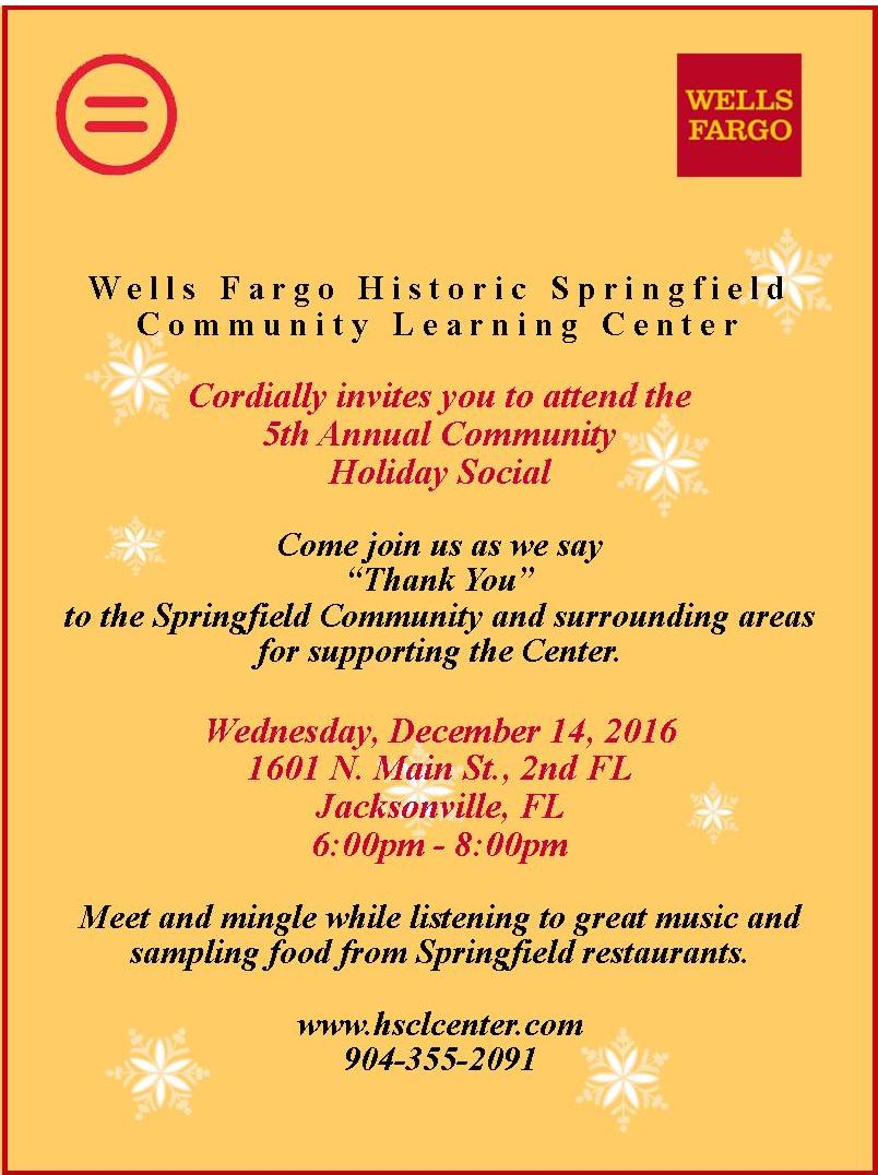 5th Annual Community Holiday Social