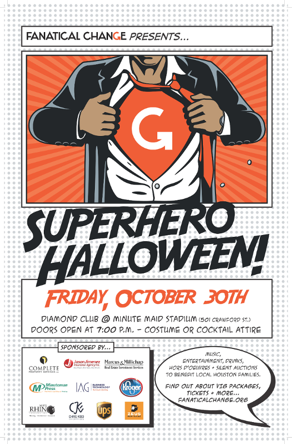 Fanatical Change Presents Superhero Halloween at Minute Maid Park ...