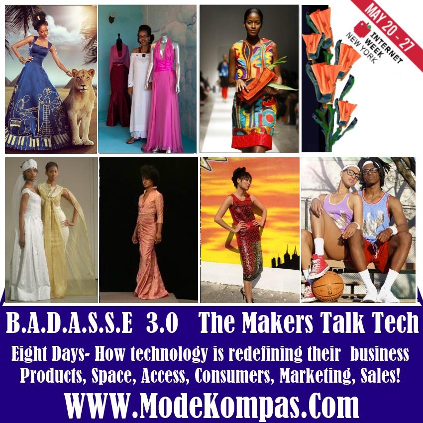 badasse makers- designers crafters artist- talk tech at internetweekny