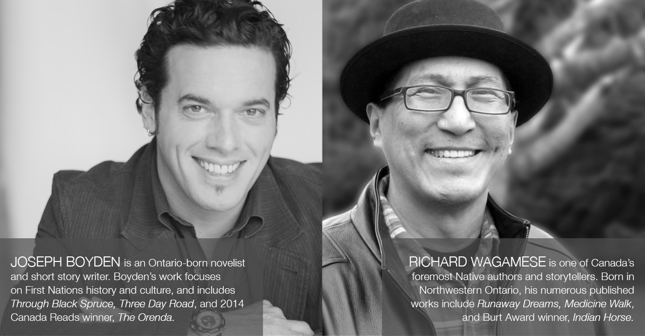 The Fine Print: Writers talk mental health. With award-winning authors Joseph Boyden & Richard Wagamese