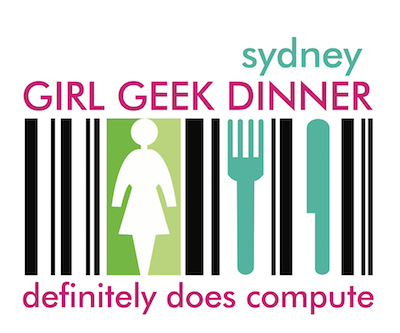 Girl Geek Dinner Sydney logo