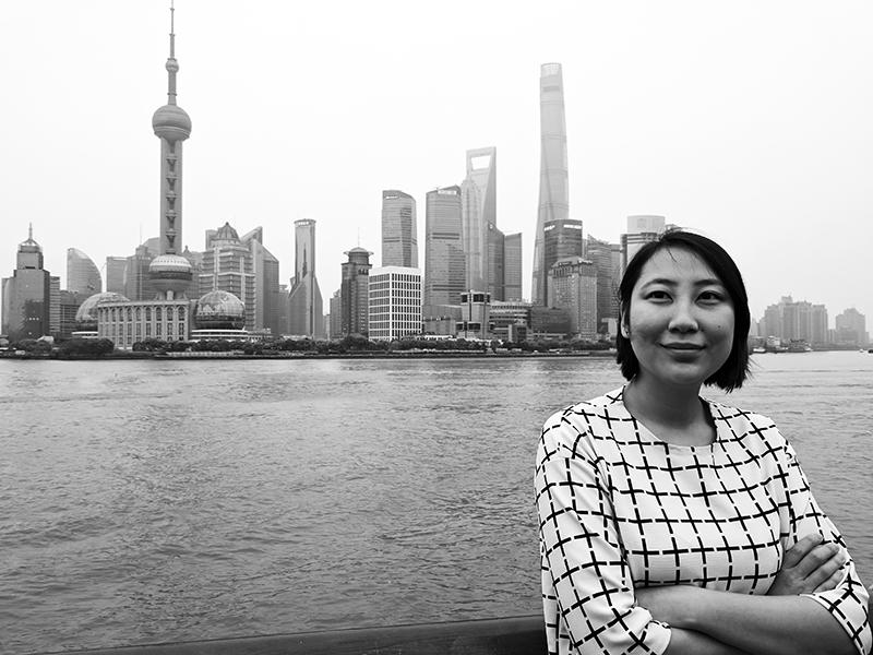 Branding Consultant Kaitlin Zhang in Shanghai