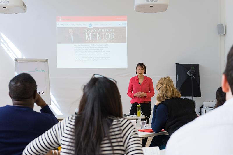 Kaitlin Zhang Personal Branding Speaker