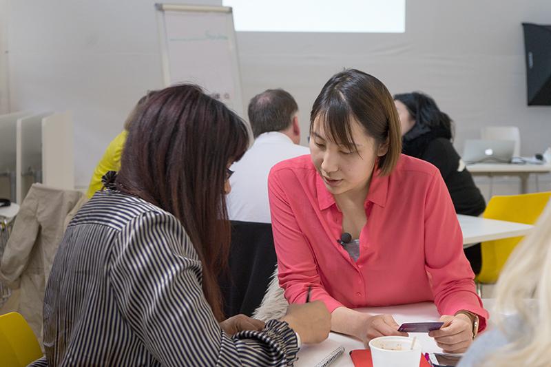 Kaitlin Zhang Personal Branding Workshop London