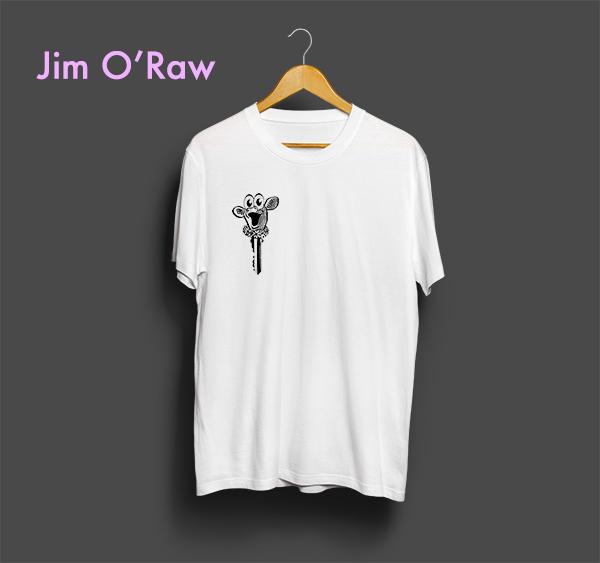 Jim O'Raw T-Shirt Design