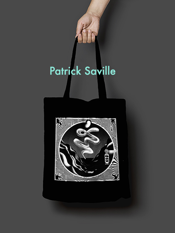 Patrick Saville Tote Bag Design