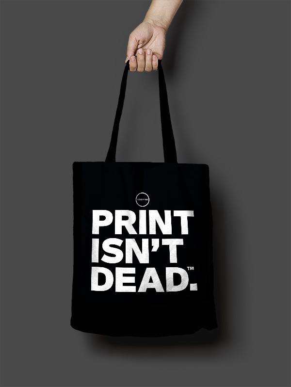 People of Print Tote Bag