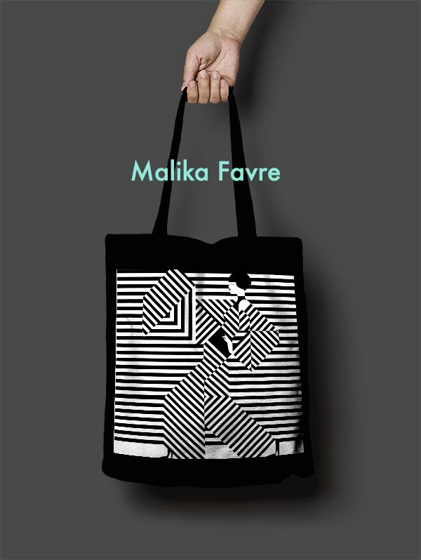 Malika Favre Tote Bag Design