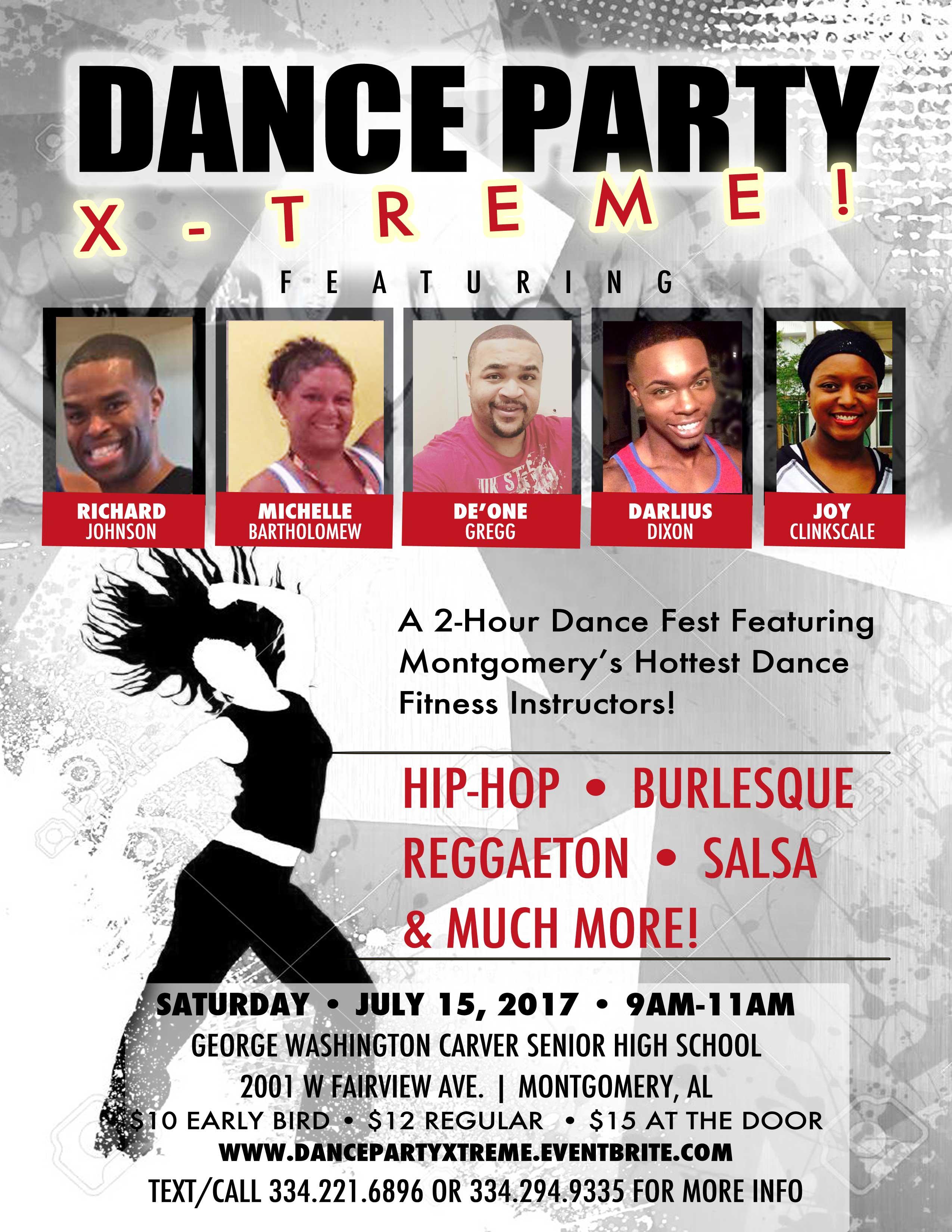 Dance Party X-Treme Flyer