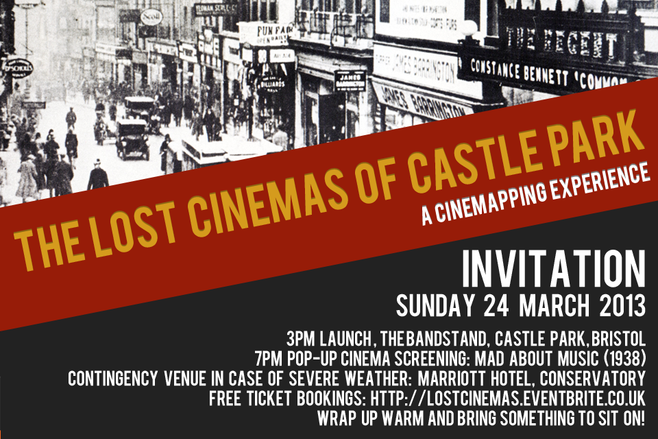 Lost Cinemas Invitation