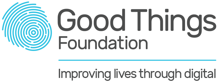 Good Things Foundation logo.
